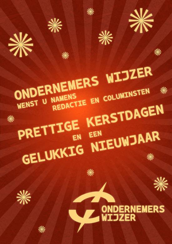 Kerstadvertentie Ondernemers Wijzer