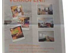 Advertentie Huiskrant H&H Makelaars